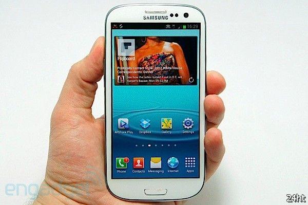 Samsung ставит рекорды в продажах Galaxy S III