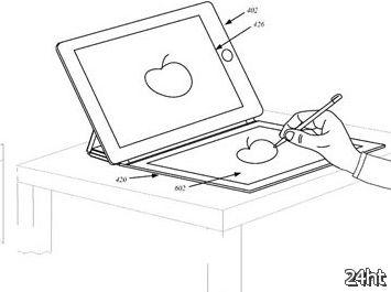 Apple изобрела обложку c экраном на iPad похожую на Touch Cover на Surface