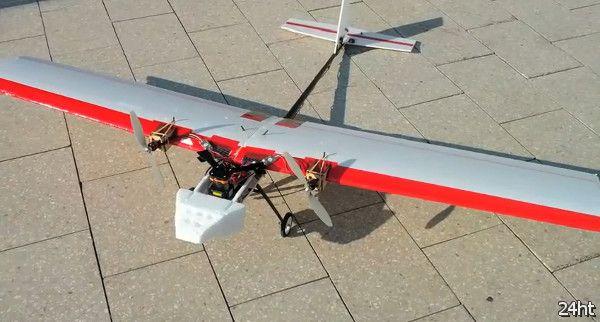 Автономный аэроплан на базе процессора Atom
