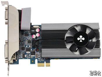 Club3D представила графическую карту GeForce GT 610 PCI Express X1