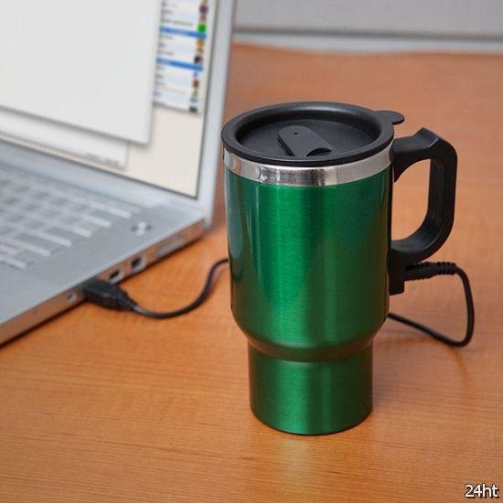Dual Heated Travel Mug – кружка, в которой не остывает кофе