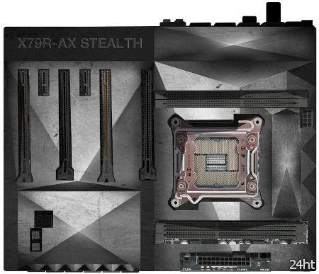 ECS X79R-AX Stealth — истребитель-«невидимка» среди материнских плат