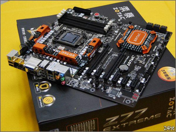 Флагманская плата ZOTAC ZT-Z77-U1D Crown уже продаётся в Китае