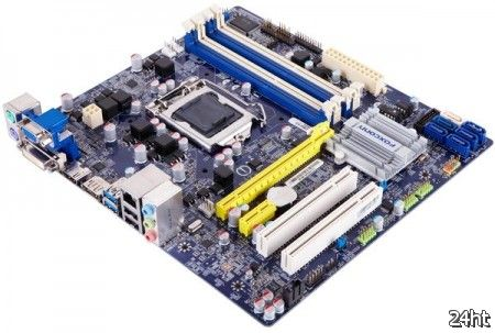 Foxconn B75M – доступная плата для Intel Ivy Bridge