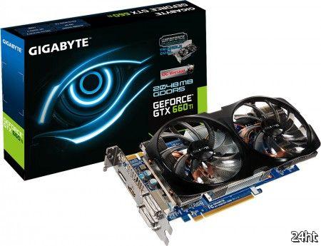 GIGABYTE представила свои GeForce GTX 660 Ti WindForce 2X
