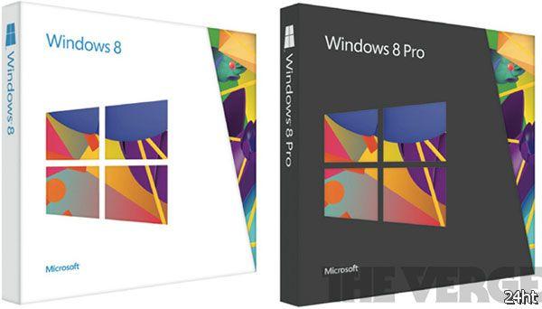 Изображения коробок с Microsoft Windows 8