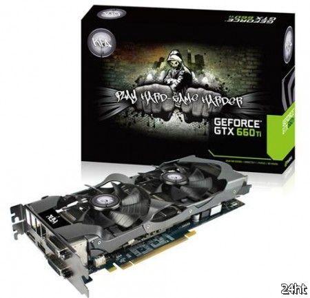 KFA2 выпустила свои GeForce GTX 660 Ti с 2 и 3 Гб видеопамяти