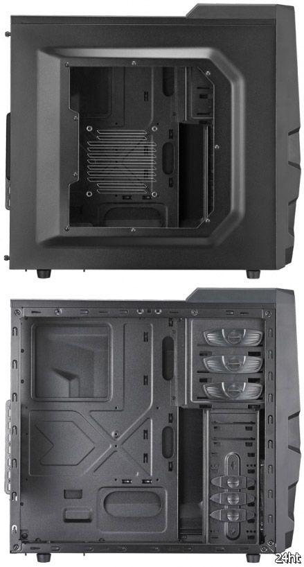 Квартет недорогих игровых корпусов K Series от Cooler Master