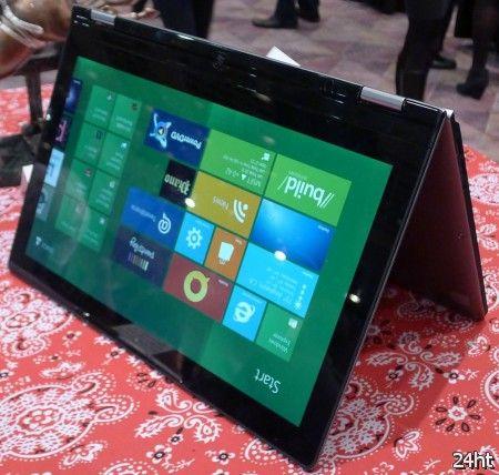 Lenovo готовит планшет-трансформер на базе SoC Nvidia под управлением Windows RT