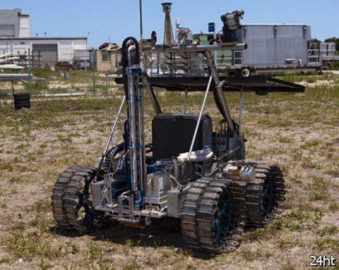 Луноход для геологической разведки на Луне