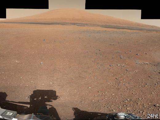 NASA опубликовала снимки подножия горы Sharp, сделанные Curiosity