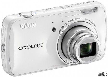 Nikon официально представила Android-камеру Coolpix S800c