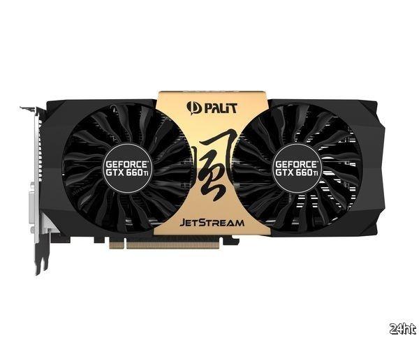 Новое геймерское оружие Palit: GeForce GTX 660Ti Jetstream