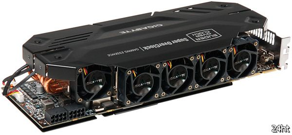 Официально о GIGABYTE Radeon HD 7970 SOC с кулером-гигантом