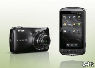 Опубликованы фотографии Android-камеры Nikon Coolpix S800c