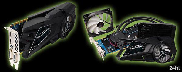 Оригинальное водяное охлаждение Inno3D iChiLL GeForce GTX680/670