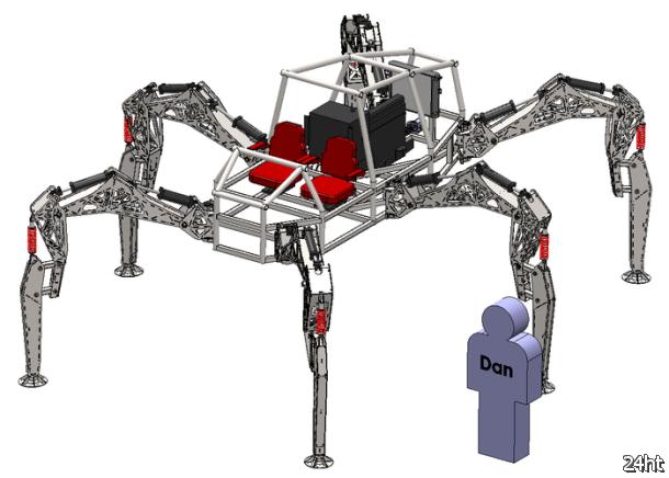 Паукообразный робот Hexapod