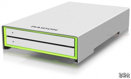 RAIDON анонсировала дисковое хранилище Runner R2420-B3