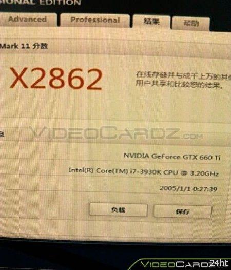 Результаты тестирования видеокарты MSI GTX 660 Ti HAWK
