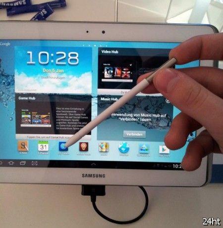 Samsung Galaxy Note 10.1 поступит в продажу в конце этого месяца