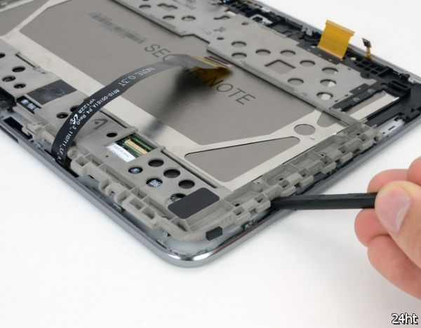 Samsung Galaxy Note 10,1 признали более ремонтопригодным чем новый iPad