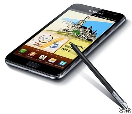 Samsung Galaxy Note 2 будет оснащен гибким дисплеем