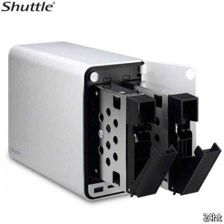 Shuttle представила сетевой накопитель OMNINAS KD20