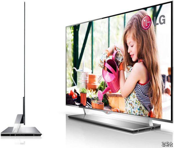 Цена и размер экранов OLED-ТВ не позволят им преодолеть долю рынка в 1% до 2014 года