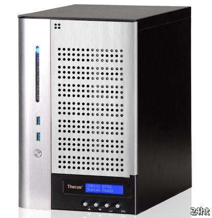 Thecus представила сетевой накопитель N7510 с семью отсеками для дисков