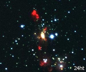 Турбулентные взаимоотношения между массивными звездами