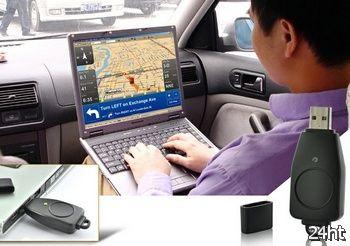 USB GPS Receiver превратит ноутбук в навигатор