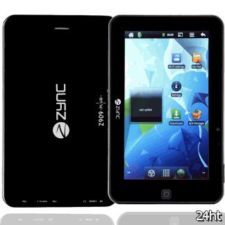 Zync выпускает недорогой планшет Z-909 Plus