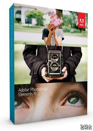 Adobe Photoshop Elements 11 с новыми фильтрами для художественной обработки фотографий