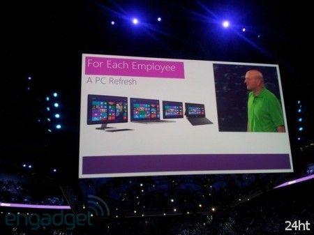 Каждому по заслугам: Microsoft дарит подарки сотрудникам