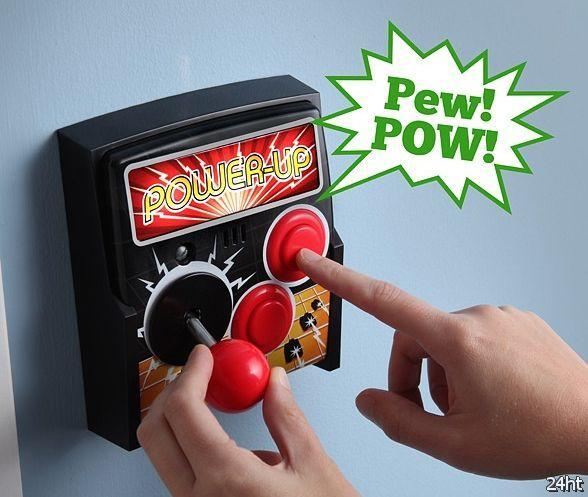 Крышка переключателя света Power-Up Arcade  (видео)