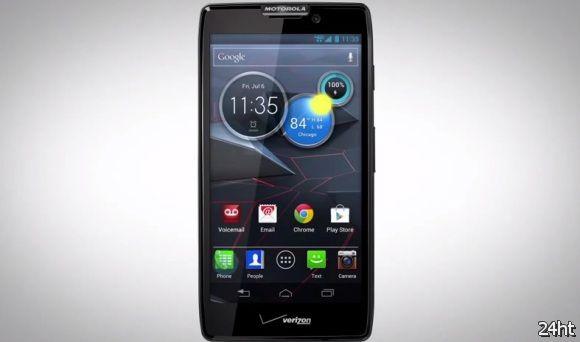 Смартфон Motorola DROID RAZR HD показался в обучающих видео
