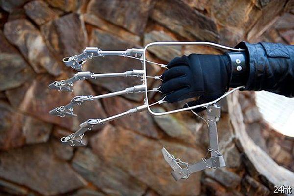 Как сделать механическую руку своими руками фото