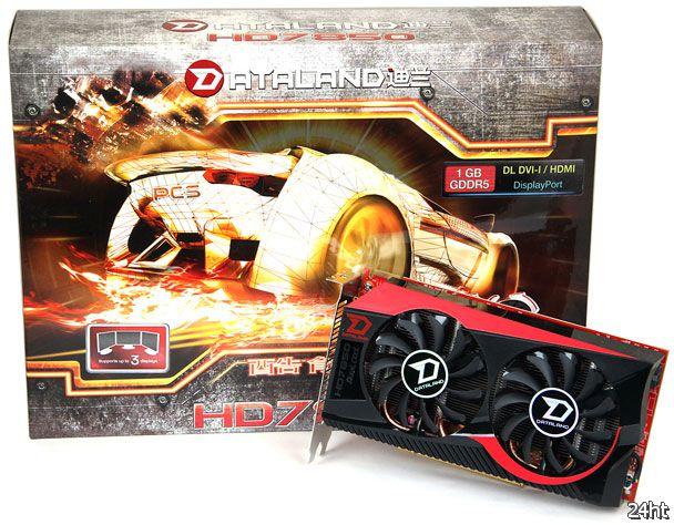 Dataland Radeon HD 7850 Dual Cool для любителей оригинальных решений