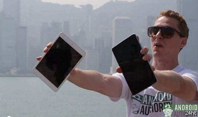 Краш-тест планшета iPad mini