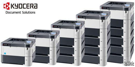 Kyocera начала продажи принтеров со сроком службы барабана на полмиллиона страниц
