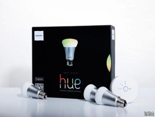 Лампочки Philips Hue, управляемые со смартфона
