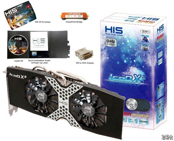 Оптимизированная видеокарта HIS 7970 IceQ X² Ghz Edition с дизайном iPower