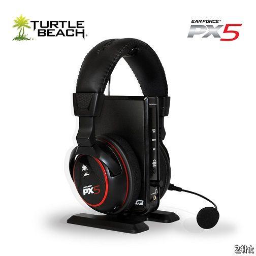 Профессиональная геймерская гарнитура Turtle Beach Ear Force PX5 уже в продаже