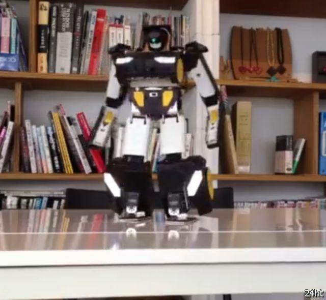 Радиоуправляемый робот-трансформер