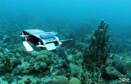Роботы объединяются для исследования коралловых рифов