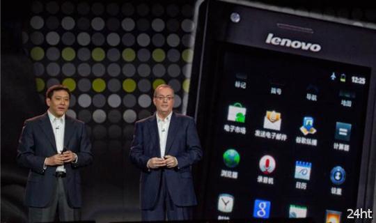 В Китае смартфоны Lenovo будут популярнее Samsung
