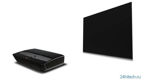 100-дюймовый проекционный дисплей от LG