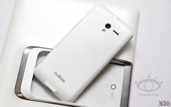 Asus Padfone 2 - гибридный смартфон в белом цвете