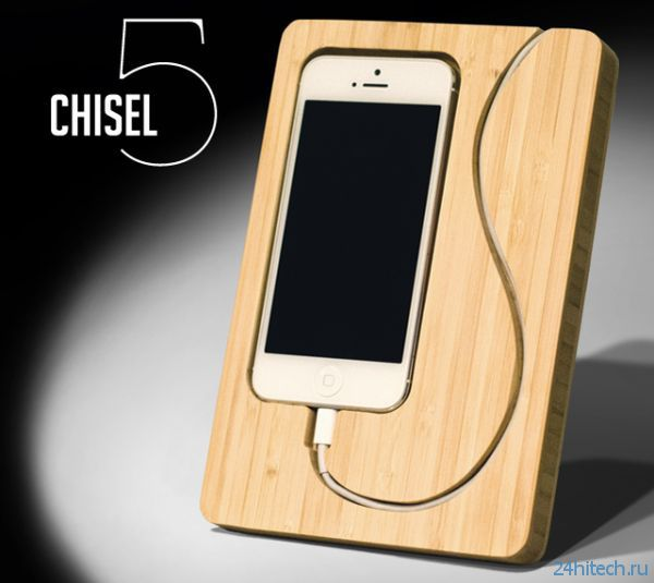 Бамбуковый док для iPhone