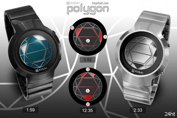 Часы-головоломка Tokyoflash Kisai Polygon